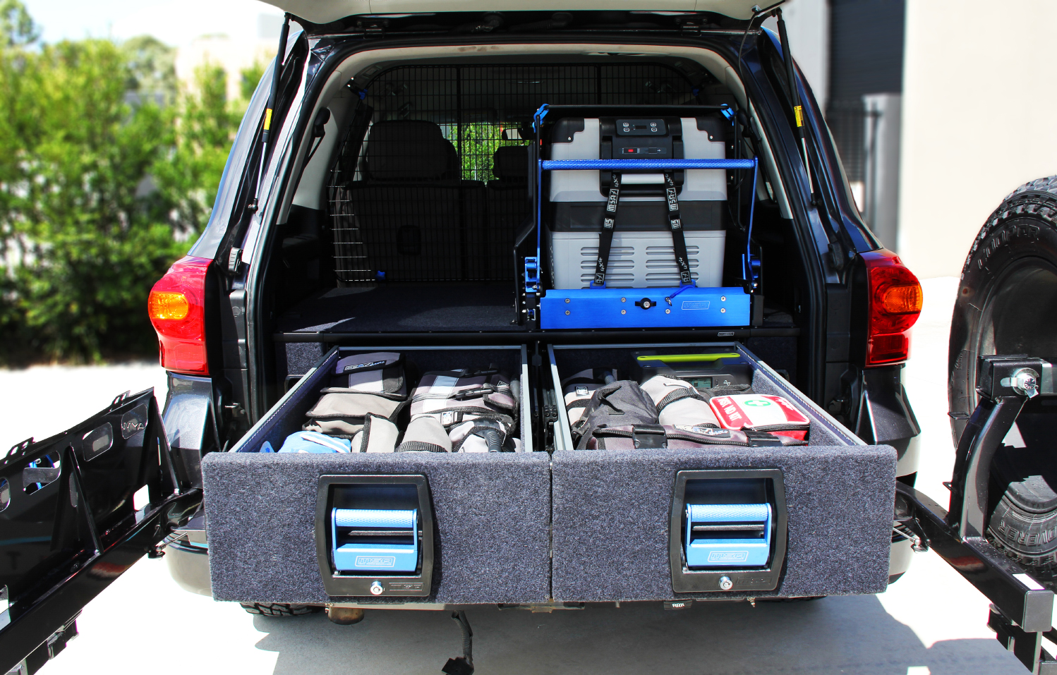 Toyota Landcruiser Double Drawer System Lc200 Series Gxl